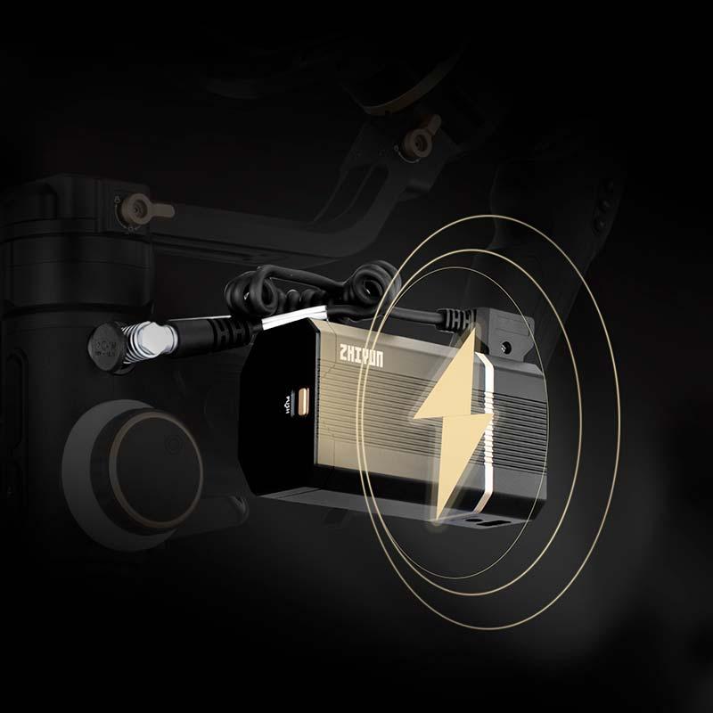 Zhiyun Crane 3S bateria externa