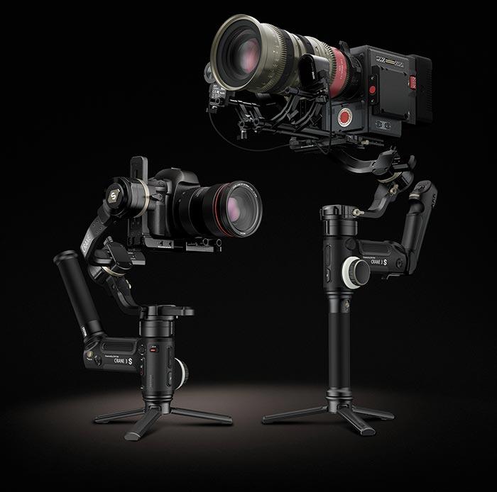 Zhiyun Crane 3S réflex y cine